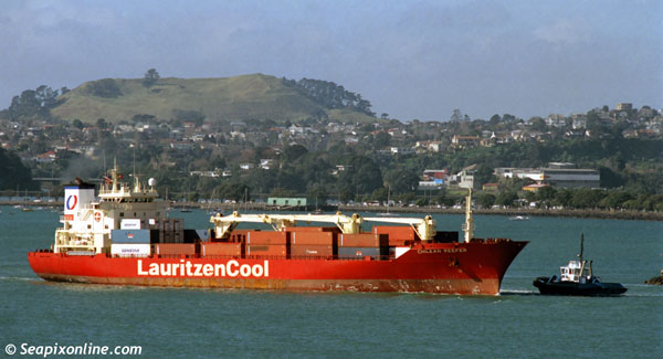 Chilean Reefer, Carelian Reefer 8917546 ID 1920