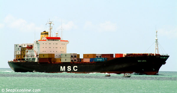 MSC Lucia, Tiger Star, Hanjin Cheju, Ever Voyager 7708754 ID 2667