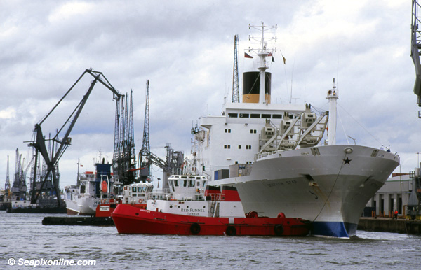Scottish Star, Sir Bevois, Canute, Scottish, Svitzer Bevois, Svitzer Bevois, Tug Beaver 8315994 ID 1970