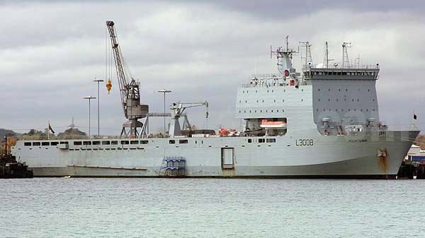 RFA Mounts Bay, Mounts Bay ID 5403