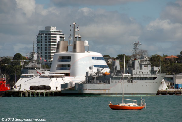 A, Project Sigma, HMNZS Resolution, SF99, Geo Resolution ID 9187