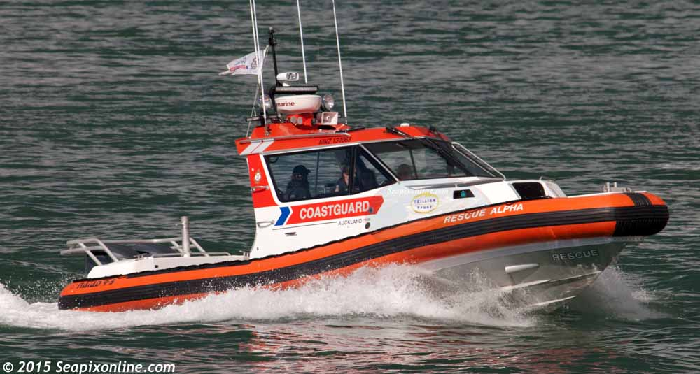 Rescue Alpha, Trillian Rescue Alpha, Auckland Coastguard ID 10192