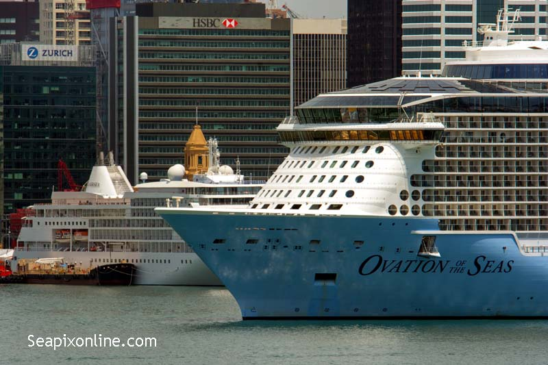 Ovation of the Seas, Silver Whisper 9230115, 9192179 ID 11608